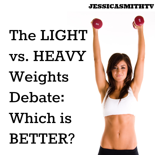 LIght Vs Heavy Weights -- Which is Better?
