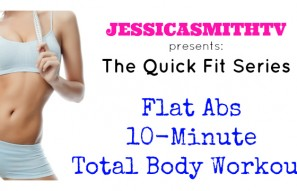 10-Minute Flat Abs Total Body Workout