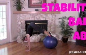 13-Minute Stability Ball Abs