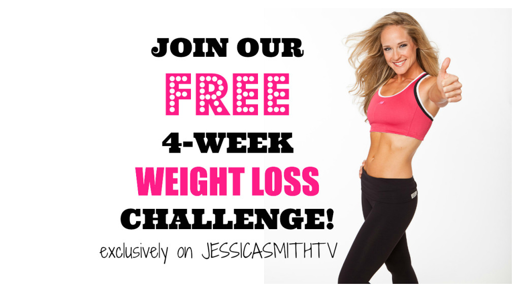 4 week weight loss plan, lose weight, free weight loss program, at home workouts, at home weight loss