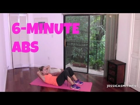 6 Minute Abs Jessica Smith Tv