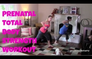 20-Minute Prenatal Total Body Strength Workout