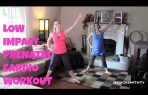20-Minute Low Impact Prenatal Cardio Workout