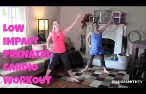 20-Minute Low Impact Prenatal Cardio Workout
