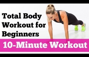 10 Minute Total Body Strength Workout for Beginners