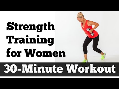 30 Minute Strength Training For Women Home Workout