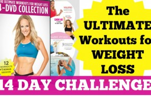 14-Day Challenge: The Ultimate Workouts for Weight Loss 4-DVD Collection