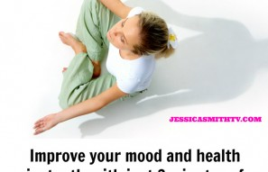 Improve your health and mood in just 3 minutes by doing this..