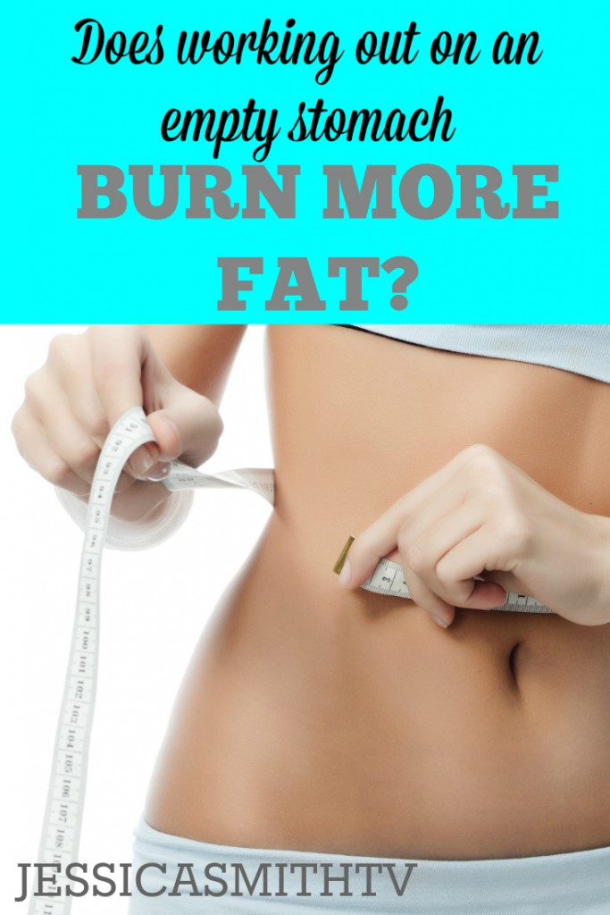 Does exercising on an empty stomach burn more fat?