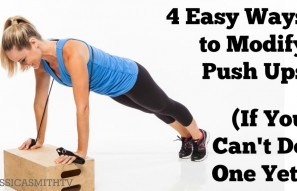 4 Easy Ways to Modify a Push Up If You Can't Do One Yet