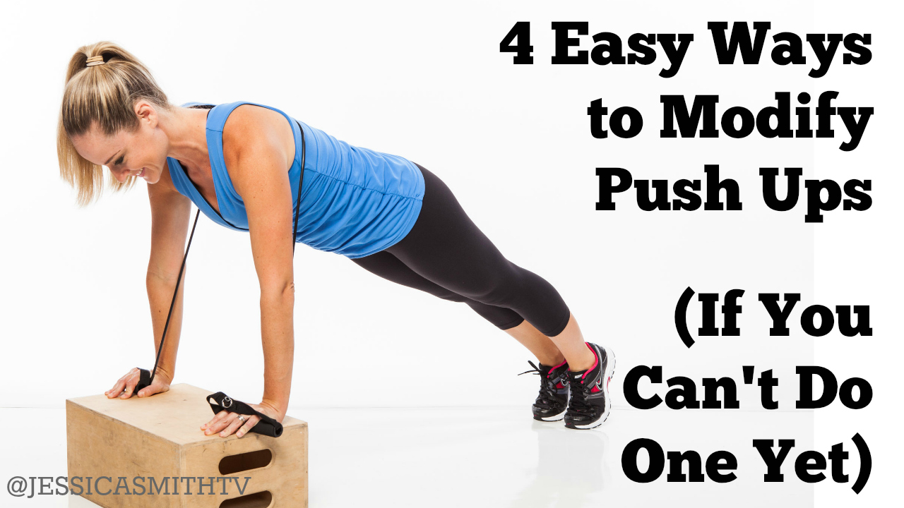 4 Easy Ways to Modify a Push Up If You Can't Do One Yet ...