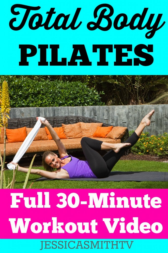 Total Body Pilates Workout_30 Minute Video