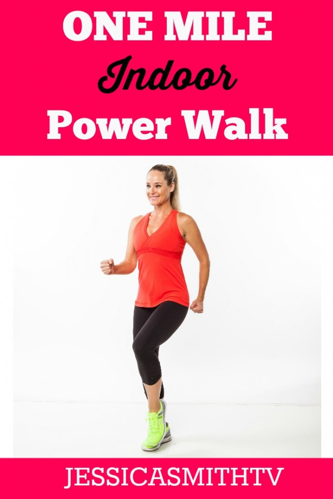 1 Mile Power Walk Free Full Length Video