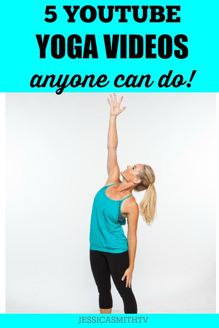 5 Yoga Videos Anyone Can Do