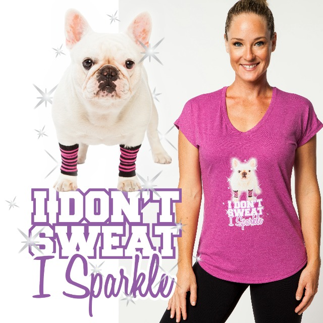 Frenchie Fitness T-Shirt