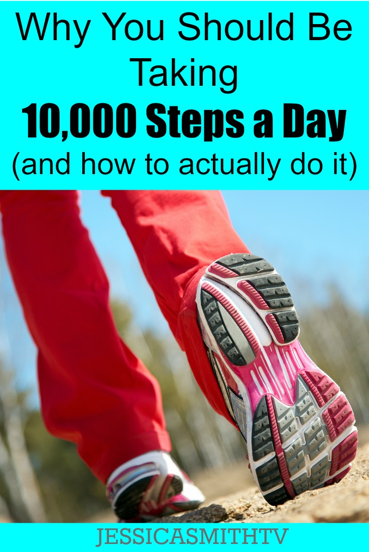 Why You Should Be taking 10,000 Steps a Day