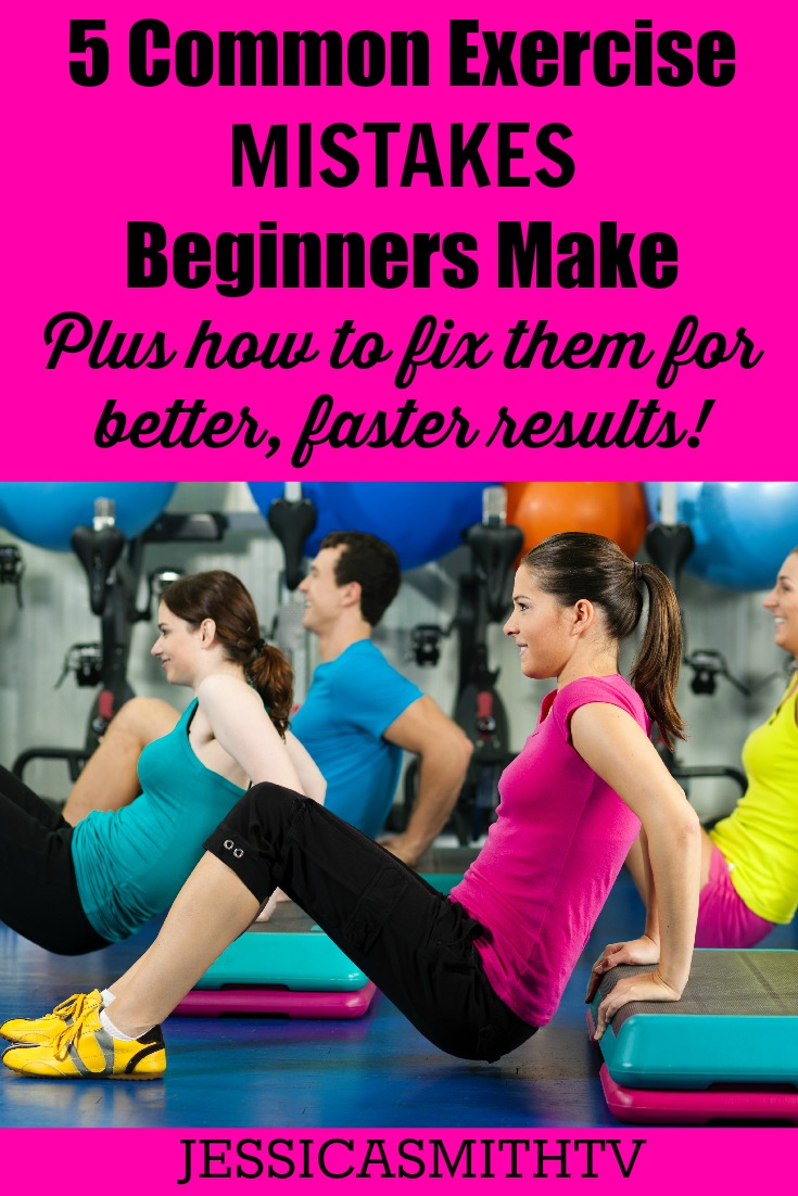 5 Exercise Mistakes Beginners Make