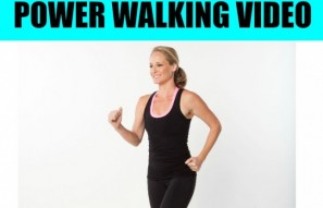 "1 Mile ""Wake Up and Walk!"" Low Impact Indoor Power Walking Workout"