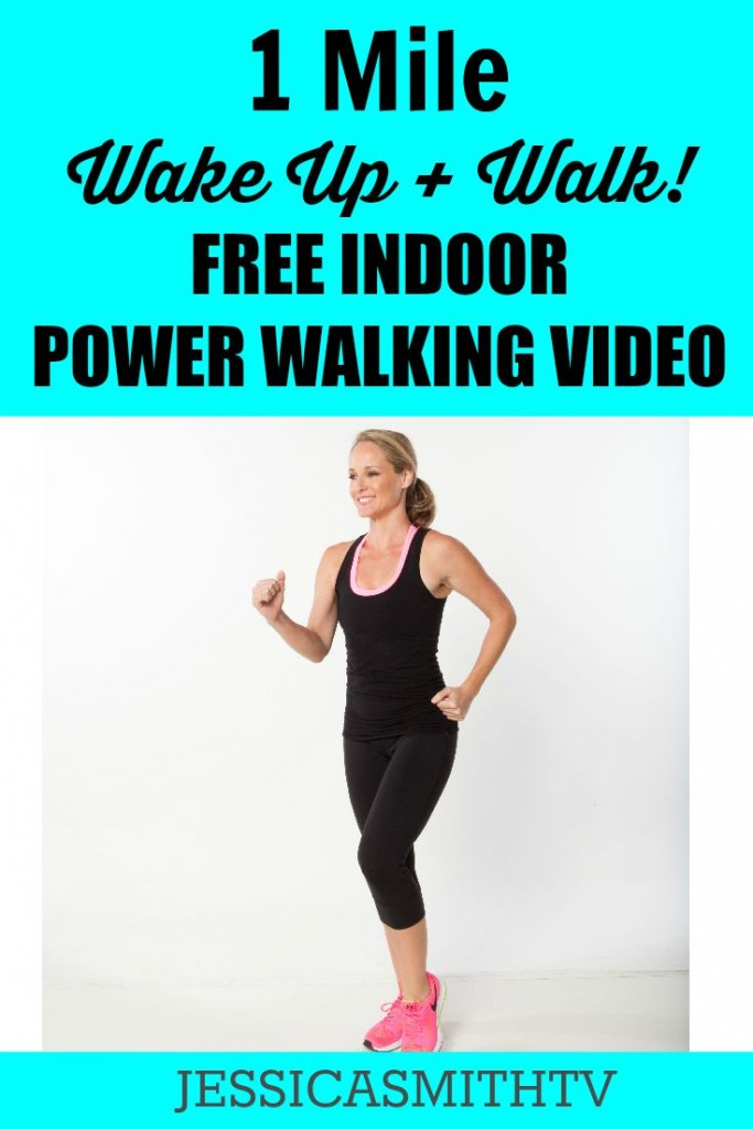 1 Mile Wake Up and Walk Free Indoor Power Walking Video