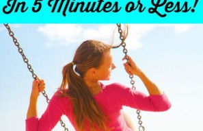 5 Ways to Improve Your Health Today (In 5 Minutes or Less!)