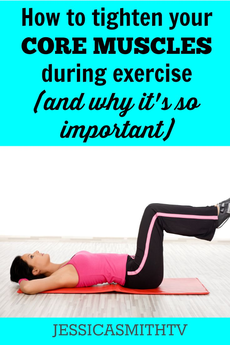 How to tighten your core muscles during exercise and why it's so important