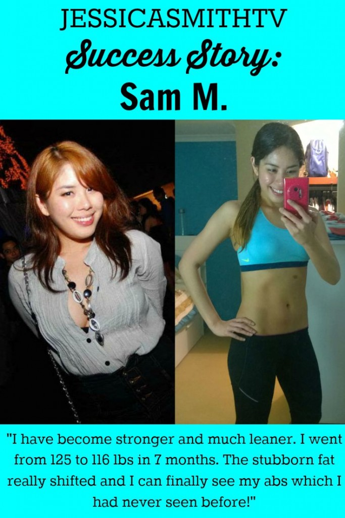 JESSICASMITHTV Success Story Sam M.